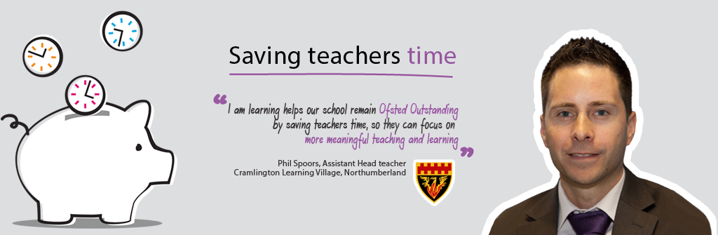 Phil Spoors, Assistant Head Teacher from Cramlington Learning Village, Northumberland